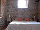 King bedroom in the 9th century tower.