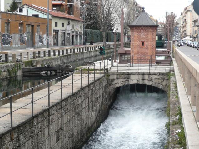 Leonardo Da Vinci lock in Milan