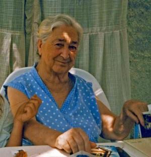 Peperonata recipe holder, Signora Vincenza
