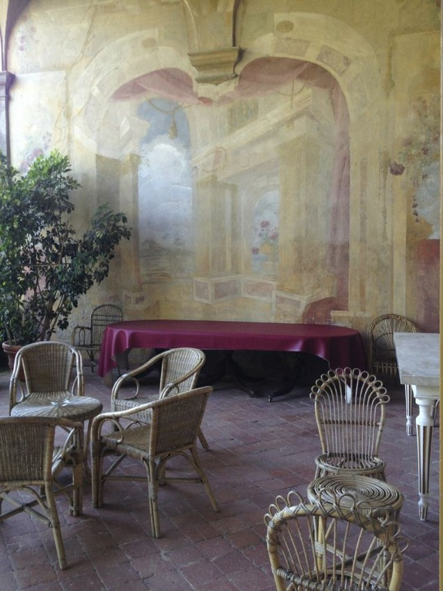 Frescoes at Villa Torrigiani