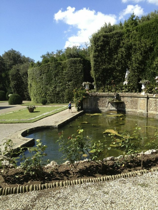 Villa Reale water garden
